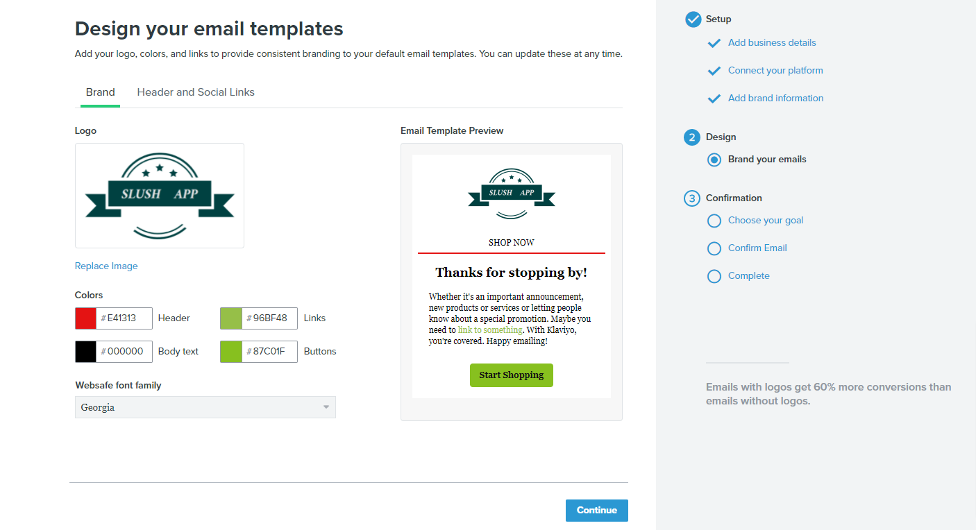 Klaviyo: Email Marketing & SMSの初期設定方法
