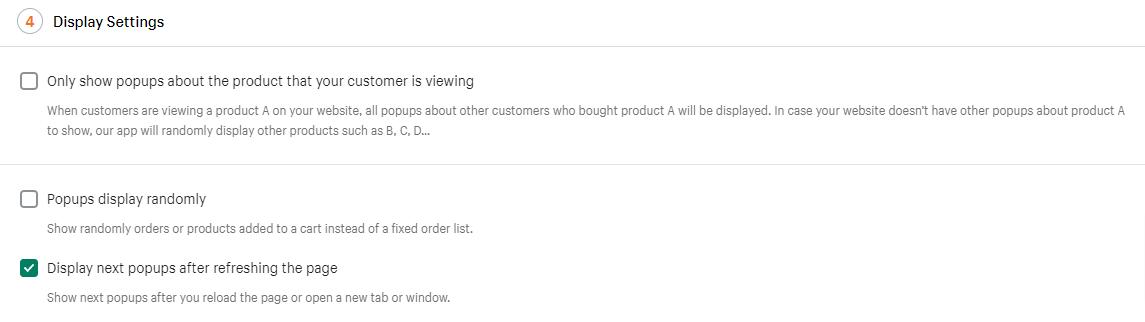 Sales Pop Master ‑ Countdownのポップアップ設定方法