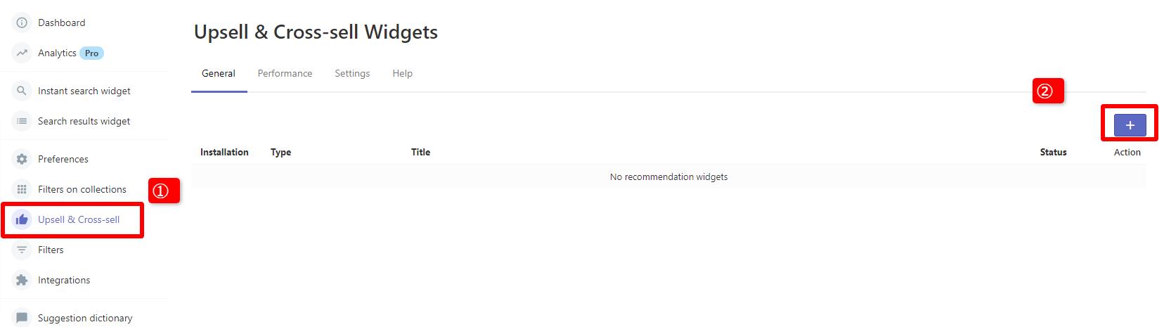 Smart Search & Instant Searchのアップセル・クロスセル促進機能の設定方法
